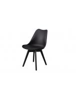 כסא TOPIC שחור/שחור