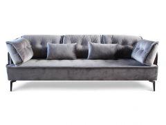 ספה תלת מושבית CINDY אפור