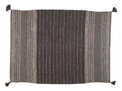 """שטיח LUCCA שחור במידה 150X200 ס""""מ"""