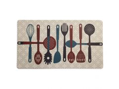 שטיח מטבח כלי אוכל