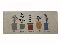 שטיח פוליאסטר כביס תבלינים