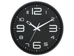 שעון קיר ELEGANTI מסגרת שחורה