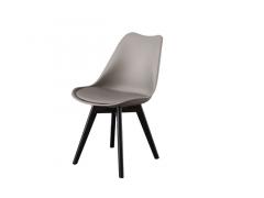 כסא TOPIC שחור/אפור