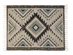 """שטיח ORGANIC  טורקיז במידה 150X200 ס""""מ"""