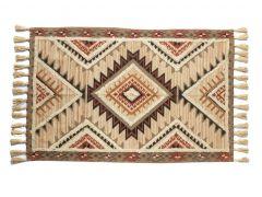 """שטיח ORGANIC  אדום במידה 100X150 ס""""מ"""