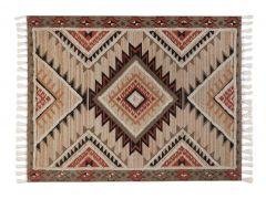 """שטיח ORGANIC אדום במידה 150X200 ס""""מ"""