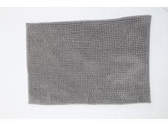 שטיח אמבטיה קלאסיק אפור כהה